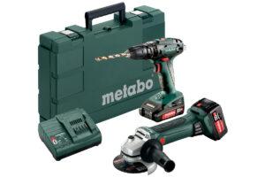 Акумуляторні інструменти в комплекті Combo Set Metabo 2.4.4 18 В (685089000)