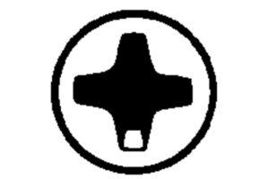 Інструментальна насадка Phillips розм. 3/ 89 мм (624458000)