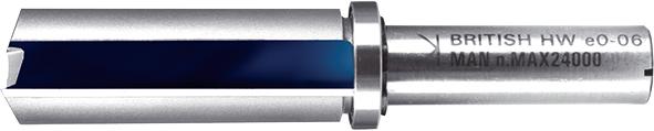 Профільна фреза з підшипником Т.С.Т. 90° 19 мм хвостовик 12 мм