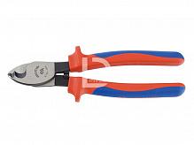 Кусачки для кабелю 200мм ізольовані KING TONY