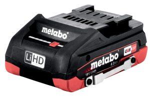 Акумуляторний блок DS LiHD, 18 В – 4,0 А·год (624989000)Metabo