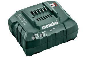 Зарядний пристрій ASC 55, 12–36 В, «AIR COOLED», ЄС (627044000)Metabo